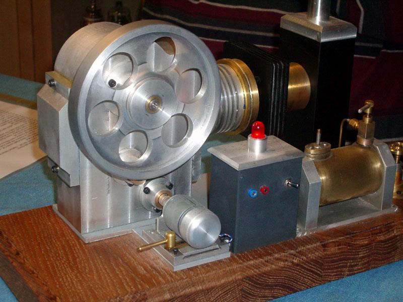 Stirlingmotor gebaut von DK3EH