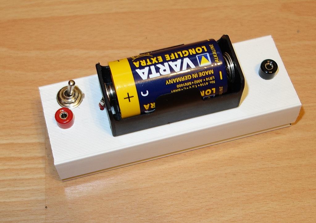 Stromversorgung für Experimentiersystem