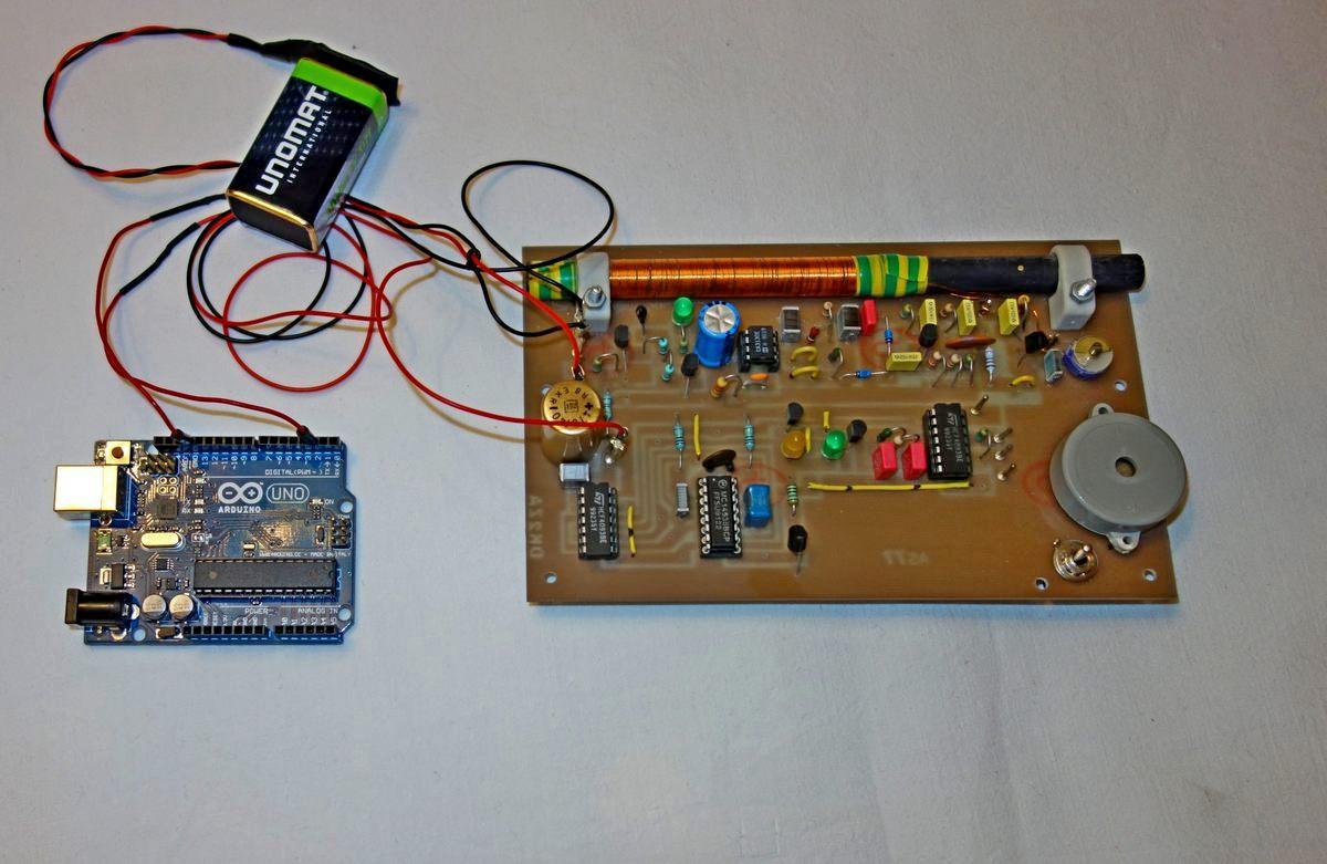 Zeitsignale von DCF77 mit Arduino analysieren