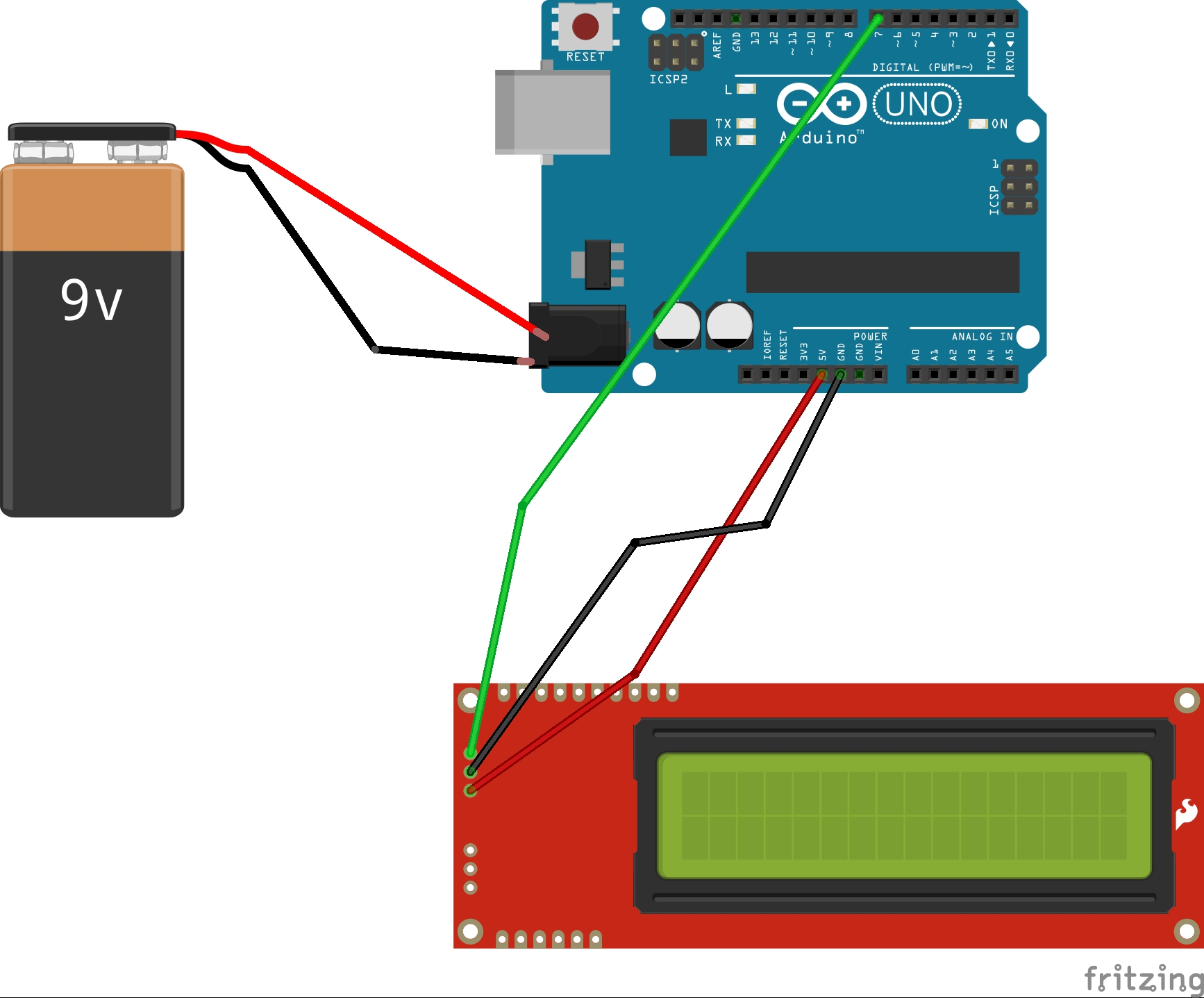 Arduino mit seriellem Display