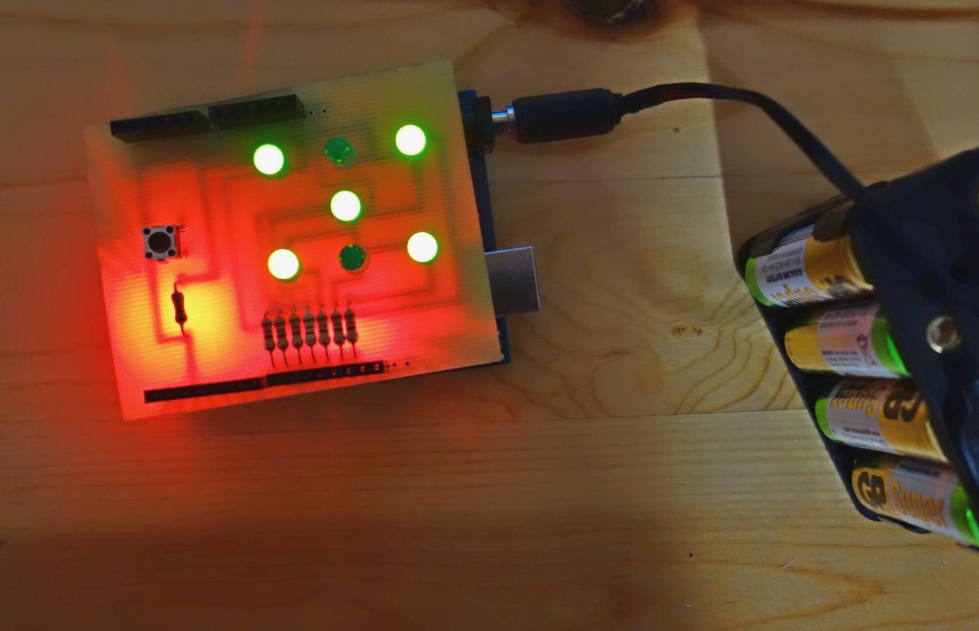 Elektronischer Würfel mit Arduino