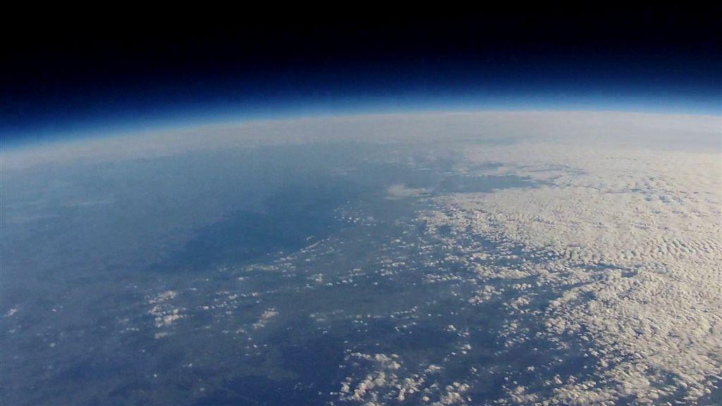 Video des Ballonfluges