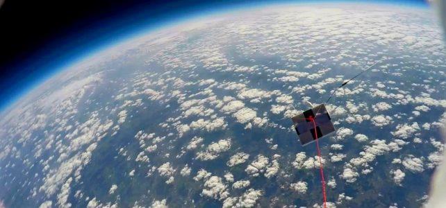 Video des letzten Ballonfluges der Fachhochschule Hamm