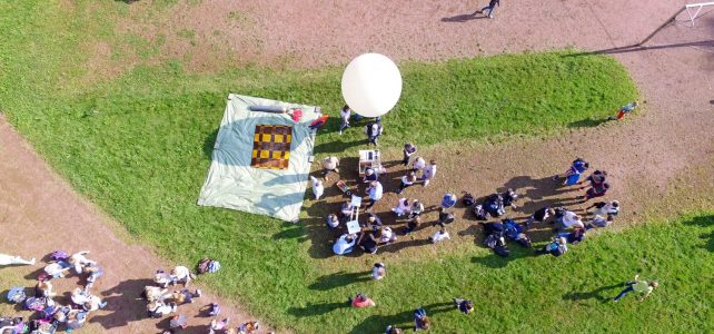 Ballonprojekt im Juli 2017