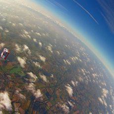 Bilder des Ballonprojektes werden in der ARD gezeigt